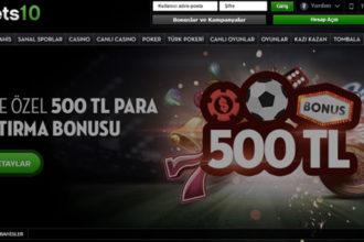bets10 bonusları